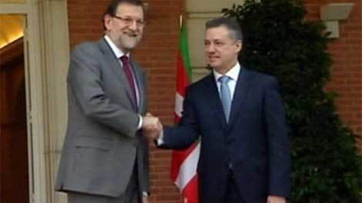 """Urkullu tendrá comunicación """"personal"""" y """"discreta"""" con Rajoy sobre los presos de ETA"""