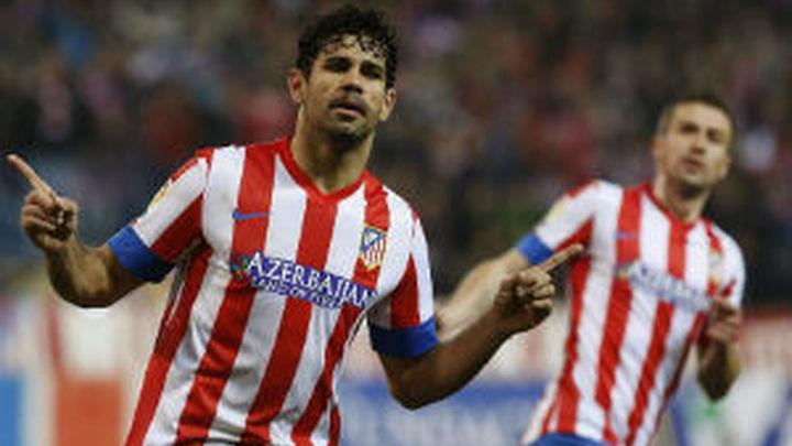 Diego Costa máximo goleador de la Copa