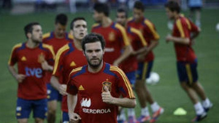 La Selección, en Doha
