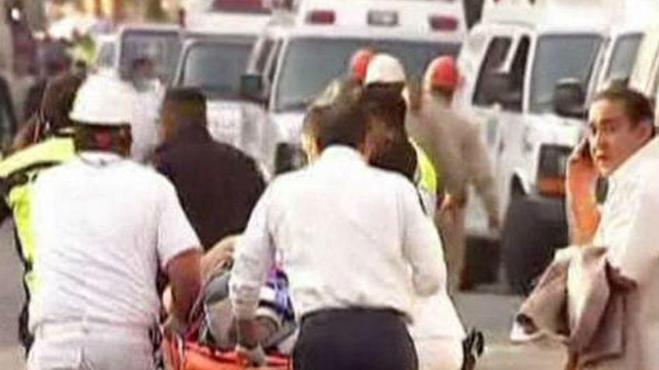 México a una acumulación de gas la explosión en la sede central de Pemex