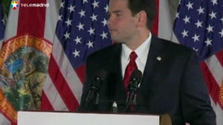 Los republicanos eligen a Marco Rubio para responder a Barack Obama