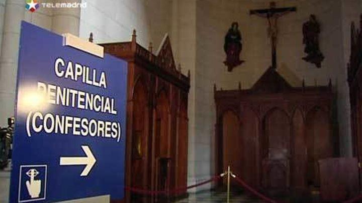 Desactivan un artefacto explosivo casero en la catedral de La Almudena