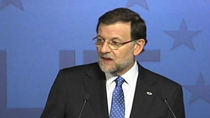 Rajoy avanza que España tendrá saldo positivo con la Unión Europea del 0,20% de su PIB