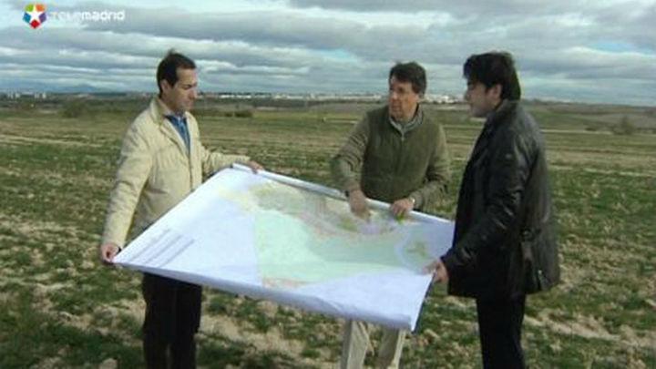 González visita los terrenos de Alcorcón  donde se ubicará  Eurovegas