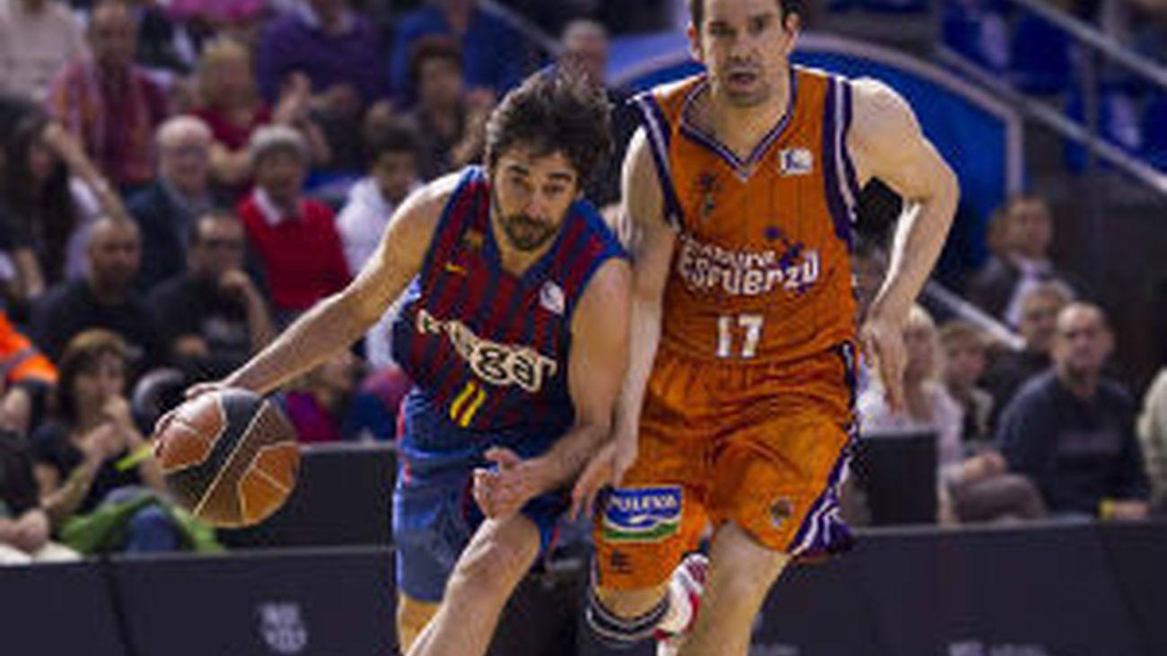 Navarro ante el Valencia Basket