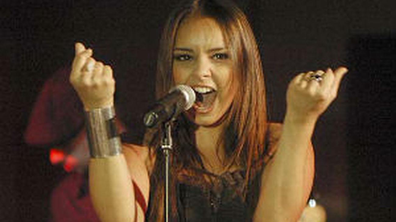 Chenoa, en concierto