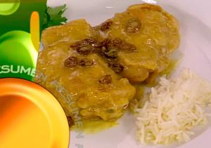 ¿Qué comemos hoy? Receta: Contramuslos de pollo al curry