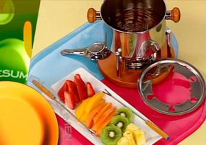 ¿Qué comemos hoy? Receta: Fondue de frutas exóticas