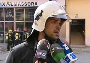 """La mujer quemada a lo bonzo en Castellón gritó: """"¡Me lo habéis quitado todo!"""""""