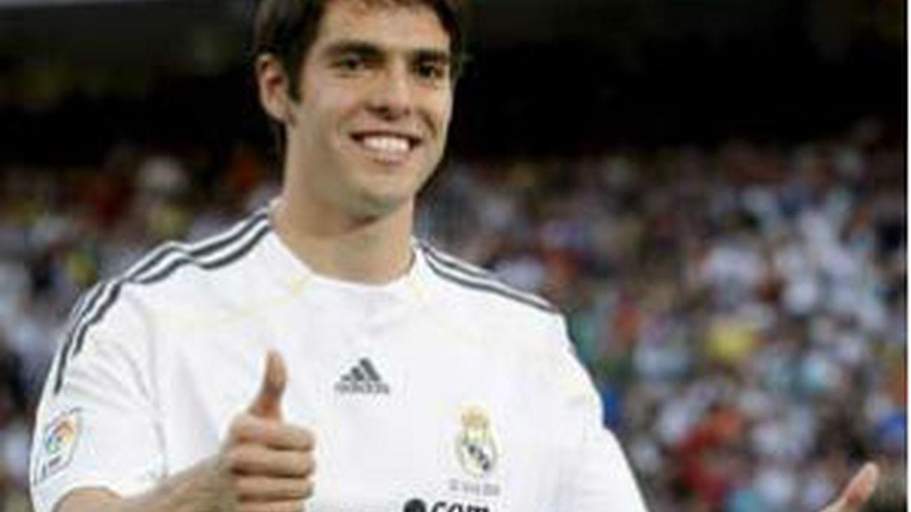 Kaká vuelve a sonreír