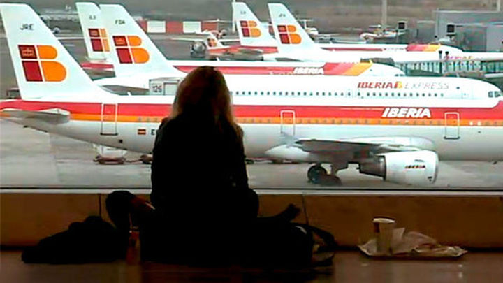 Arranca otra semana de huelga en Iberia, con casi 1.300 vuelos cancelados