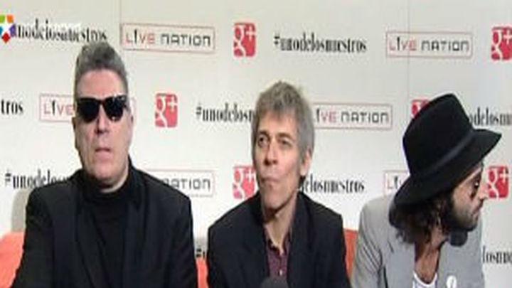 Loquillo, Ariel Rot y Leiva se unen para devolver el rock al lugar perdido