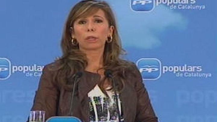 Sánchez-Camacho: El Govern no ha estado a altura en el caso de espionaje