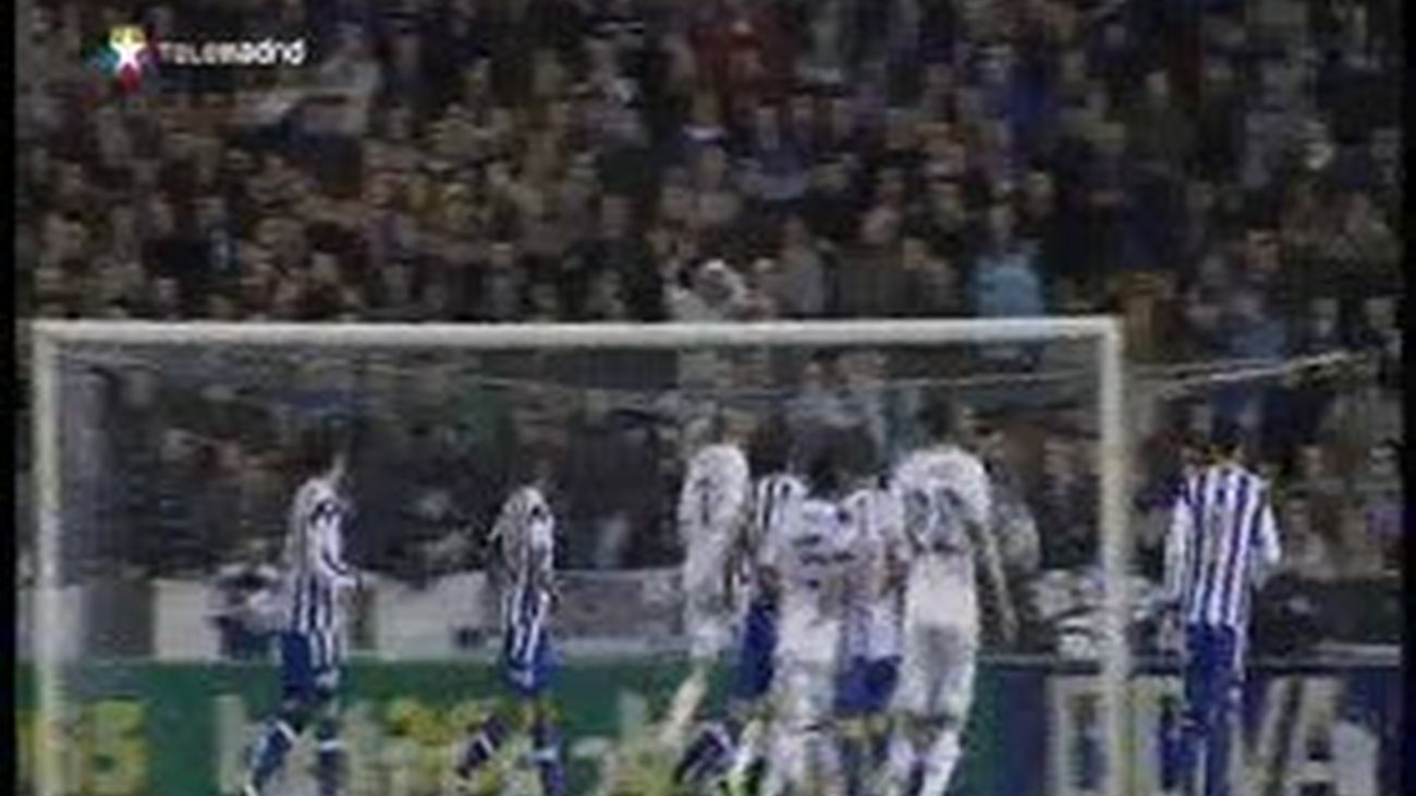 1-2. Kaká despierta del sueño al agonizante Deportivo