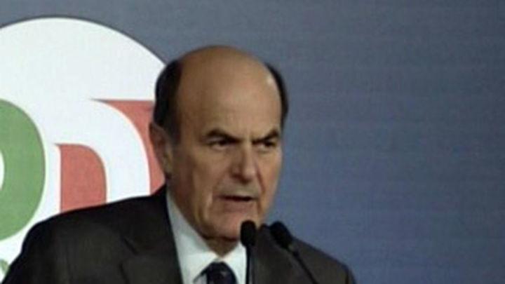 Bersani asume su responsabilidad como más votado y propone un plan de reformas