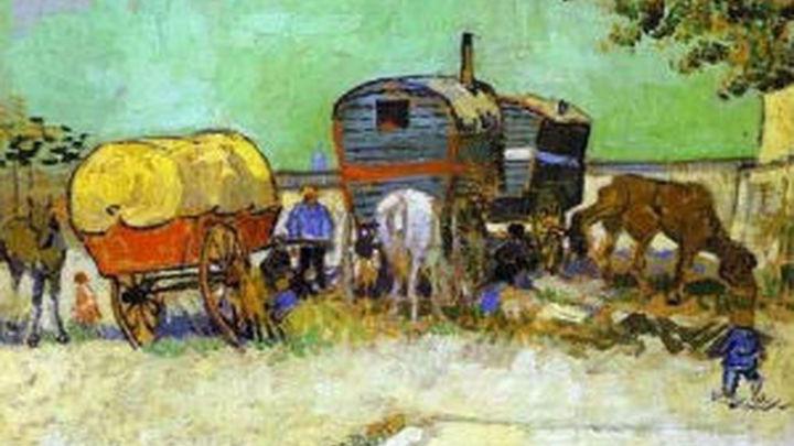 Cezanne, Manet, Van Gogh o Goya se dan la mano con el arte gitano