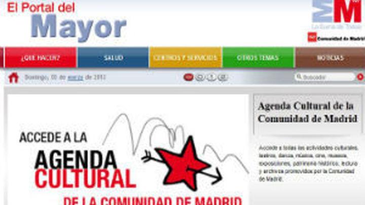 La Comunidad crea un portal web accesible con información para los mayores