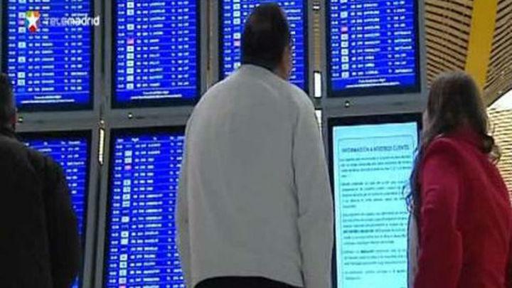 La séptima jornada de huelga en  Iberia obliga a cancelar 315 vuelos