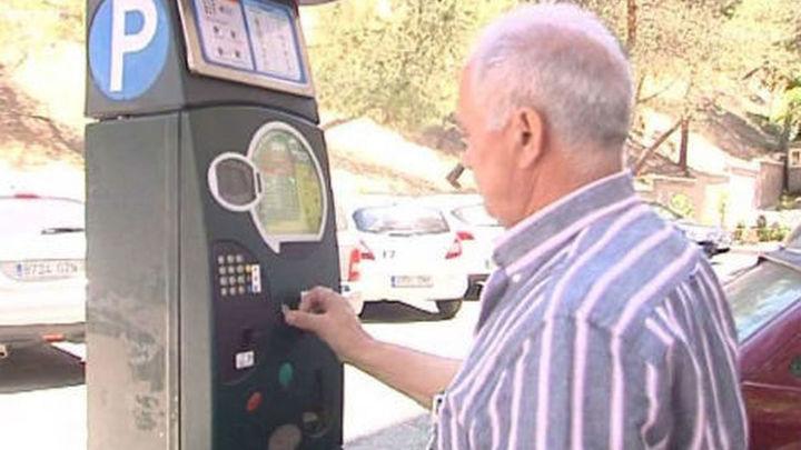El coste del parquímetro dependerá de la zona y la antigüedad del vehículo