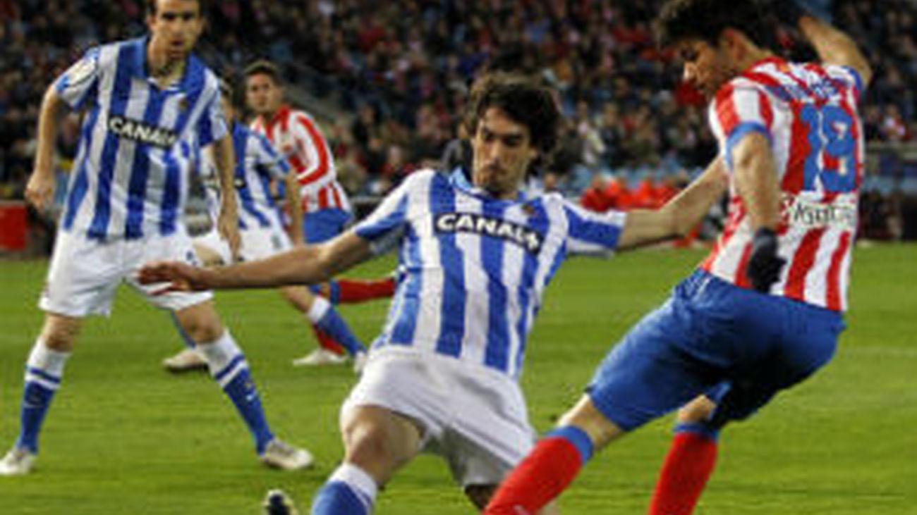 Real Sociedad derrota al At. Madrid