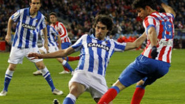 0-1. La Real Sociedad corta la racha como local del Atlético