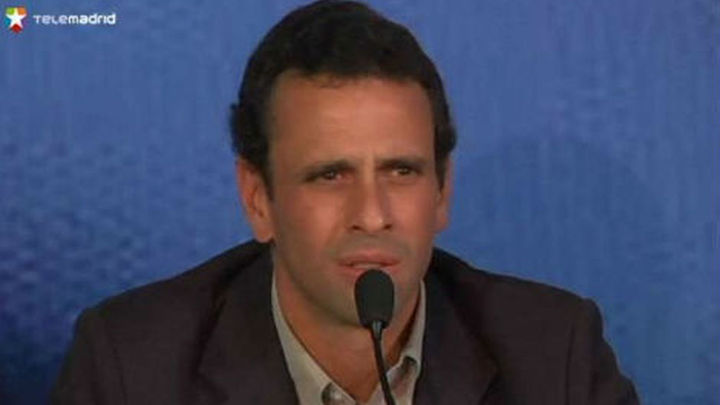 Capriles acepta oficialmente la candidatura de la oposición venezolana