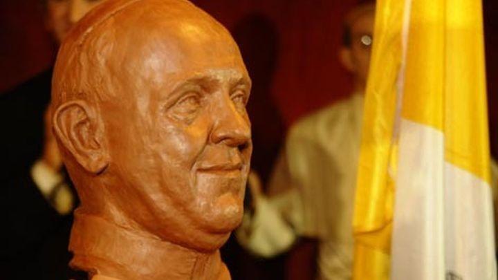 El Museo de Cera de Madrid es el primero en  tener el busto del Papa Francisco