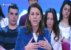 Cospedal destaca que pese a lo ocurrido en Chipre no se ha disparado la prima