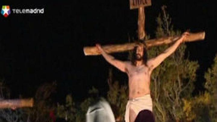 Chinchón acoge la representación viviente de la Pasión de Cristo