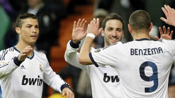 El mejor Ronaldo tapa las carencias de Benzema e Higuaín