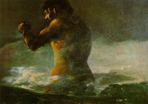 El Coloso, de Goya