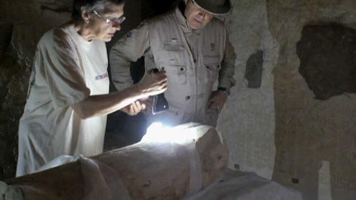 Egiptólogos españoles descubren el cementerio de la élite de la dinastía XVII