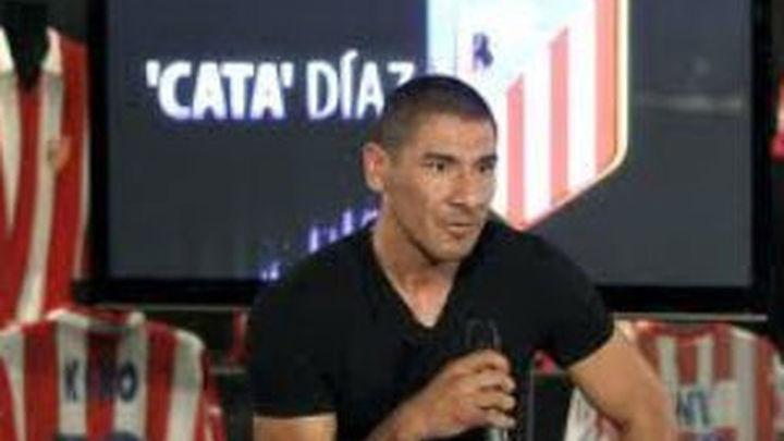 Cata Díaz pide perdón por agredir a aficionados del Atlético