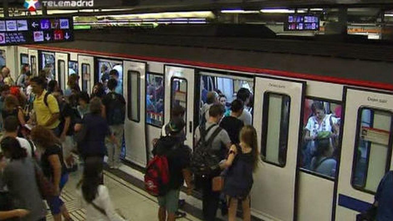 Los trabajadores de Metro aprueban nuevos paros parciales a partir del día 17