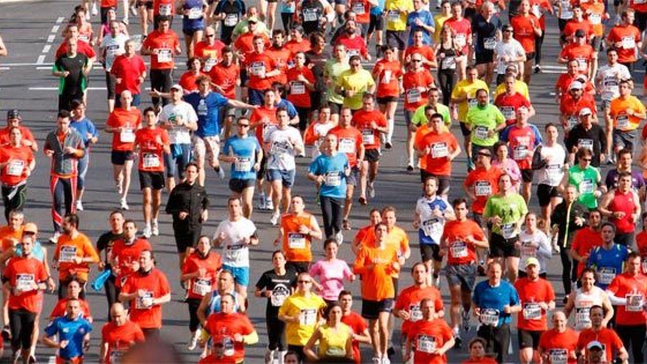 Todo preparado para la media maratón 2013
