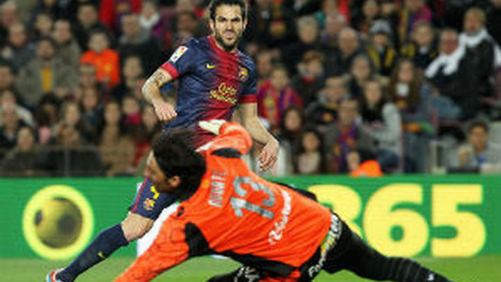 5-0. El Barça se da un festín ante el Mallorca