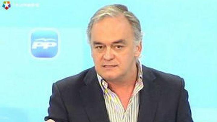 "González Pons: ""España estaría como Portugal si gobernara el PSOE"""
