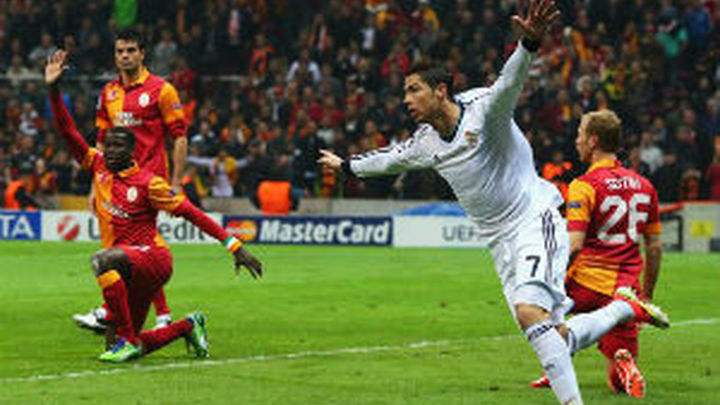 """Ronaldo """"remolca"""" al Real Madrid ante el Galatasaray, según la prensa"""