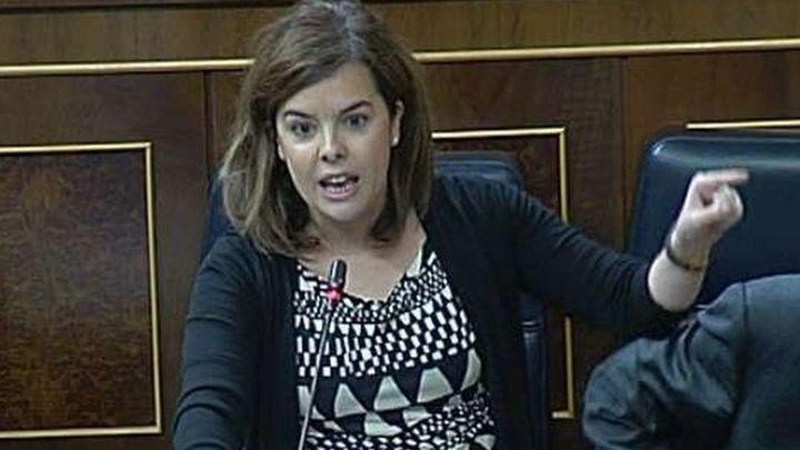 Santamaría dice que el peor año de pobreza fue 2010 y Rubalcaba redujo prestaciones