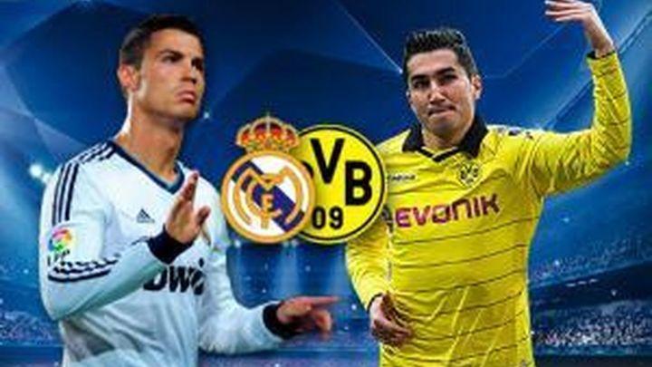 Borussia-Real Madrid y Bayern-Barça, semifinales de Champions