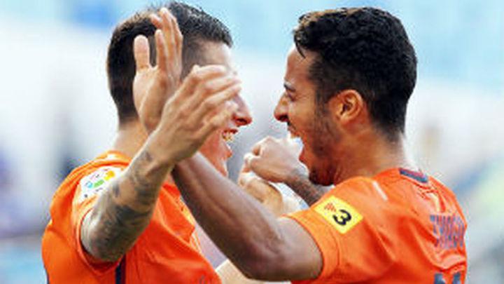 0-3. El Barça le pone la soga al cuello al Zaragoza