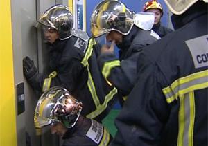 Atrapados en el ascensor