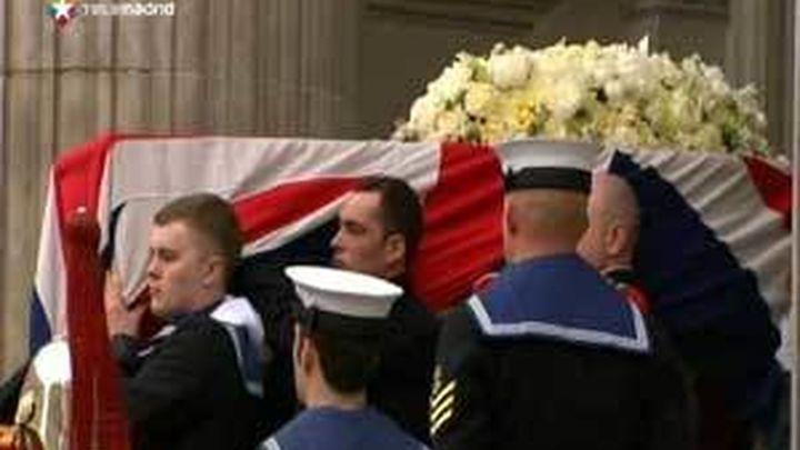 La solemnidad marca el funeral de Margaret Thatcher