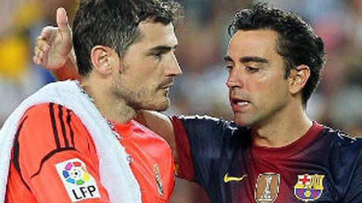 """Xavi: """"No veo a Iker en el Barça, es muy madridista"""""""