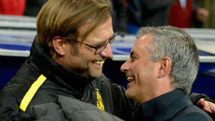 """Mourinho: """"Klopp habla todos los días, yo no abro la boca"""""""