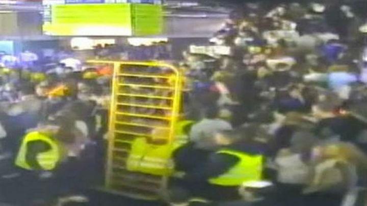 Seguriber asegura que el operario de las cámaras no vio avalanchas en el Arena