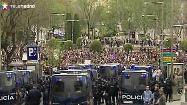 """Cinco detenidos en la protesta """"Asedia el Congreso"""""""