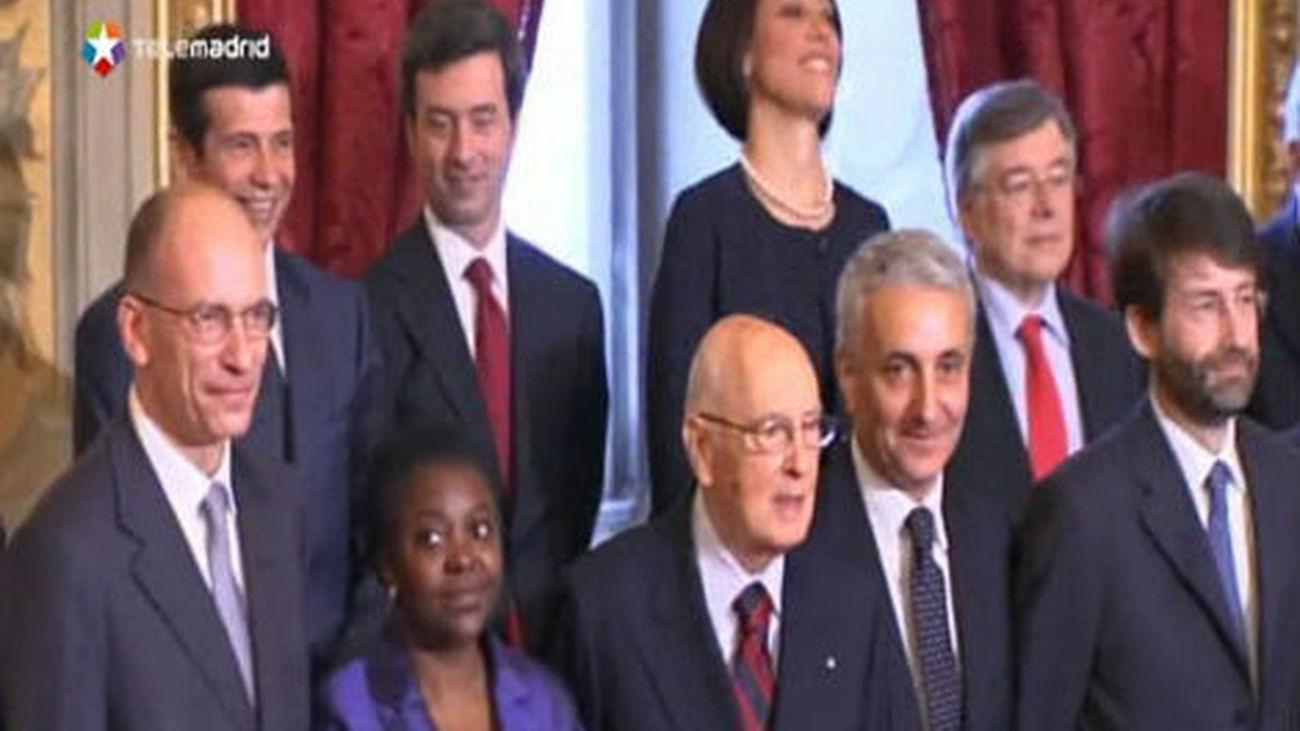 La jura de Letta como jefe de Gobierno italiano, empañada por un tiroteo