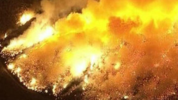 El fuego devasta más de 6.500 hectáreas en California