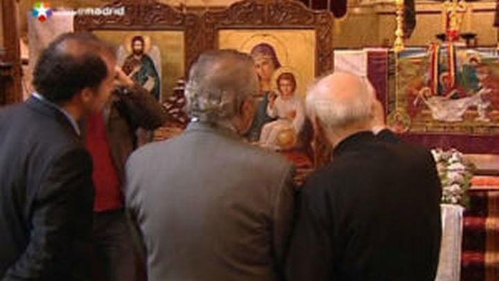 Fermosel acompaña a los rumanos ortodoxos a preparar el rito de la Pascua